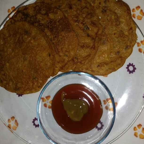 How to make Dal ka chilla ( leftover dal ka chilla)