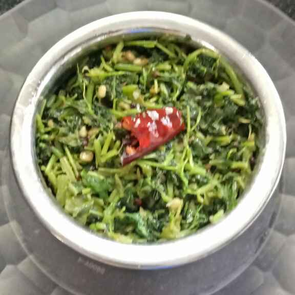 Photo of Amaranth leaves curry with ginger. by lakshmi kumari at BetterButter