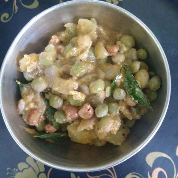 How to make Lava beans potato masal