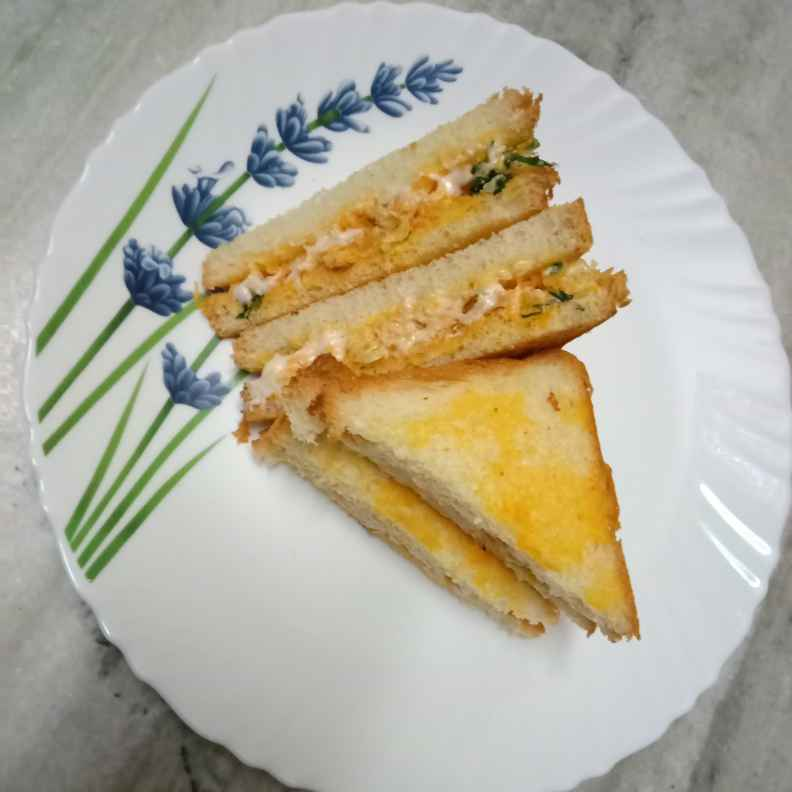 Photo of Spicy curd sandwich by Surya Rajan at BetterButter