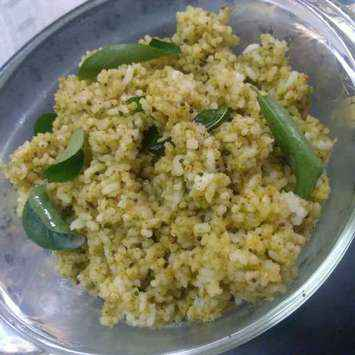 How to make Curry leaves rice
