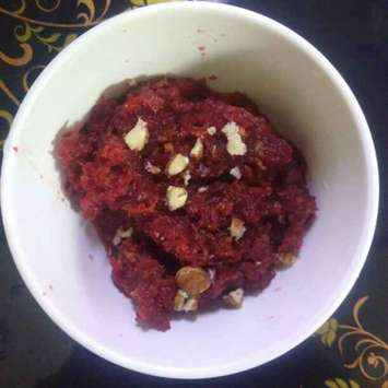 How to make Beetroot carrot halwa