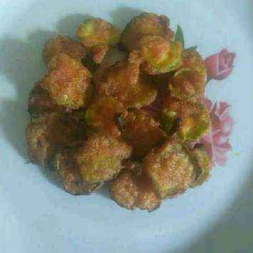 How to make Ridge gourd bajji