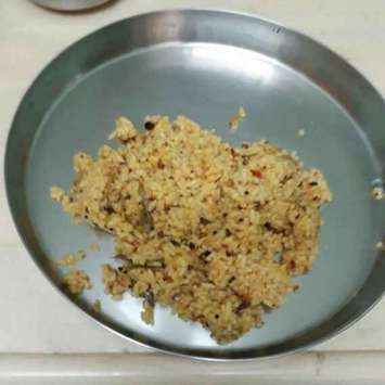 How to make Sesame rice