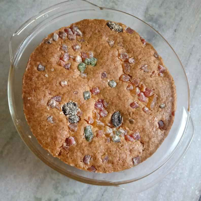 How to make Tutti frutti cake