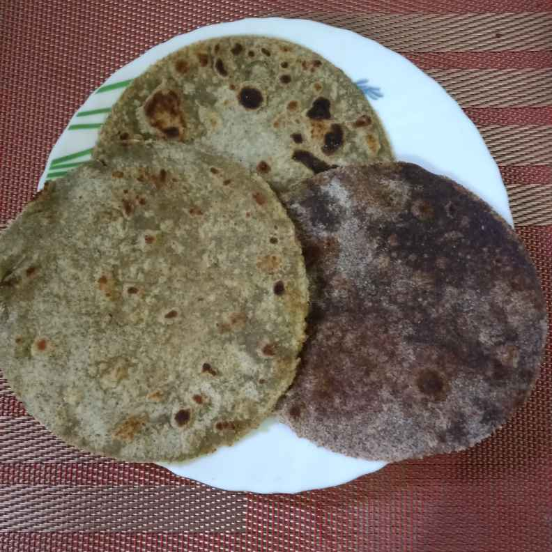 Photo of Sprouted green gram, ragi, pearl millet roti by Surya Rajan at BetterButter