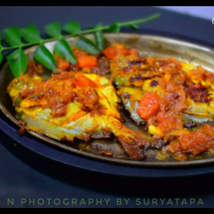 How to make Pomfret onion masala fry