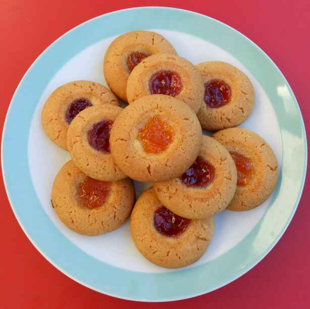 Photo of Jam Filled Butter Cookies by Sushama Samanta at BetterButter