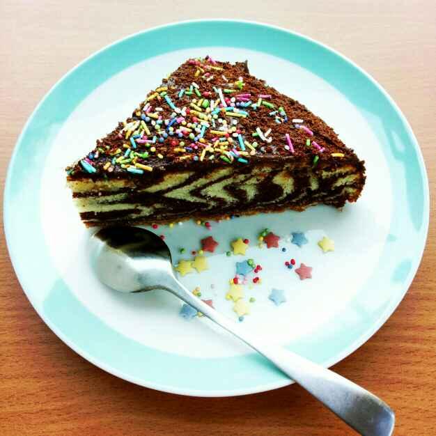 Photo of Zebra Cake by Sushama Samanta at BetterButter