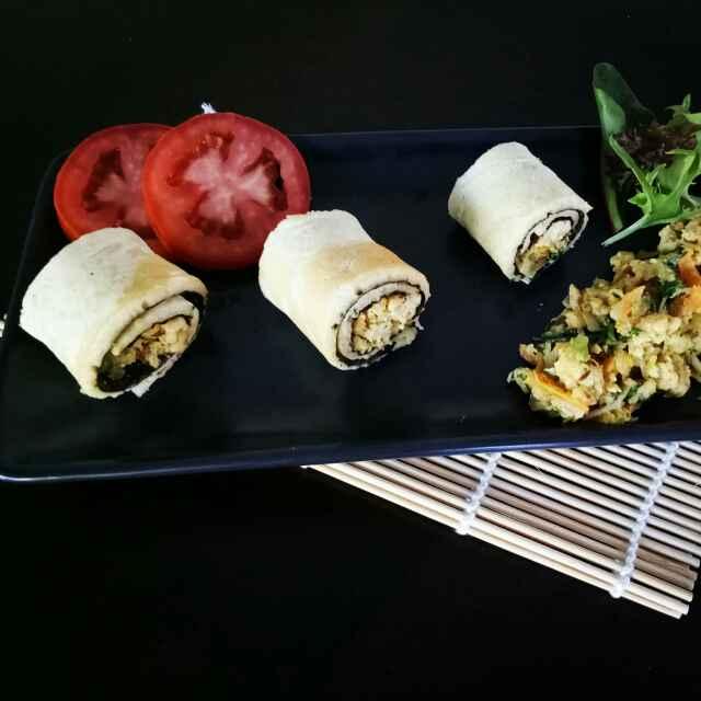 Photo of Chicken Patisapta Roll by Sushama Samanta at BetterButter