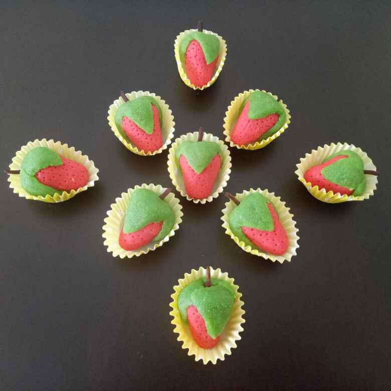 Photo of Almond Strawberry by Sushama Samanta at BetterButter