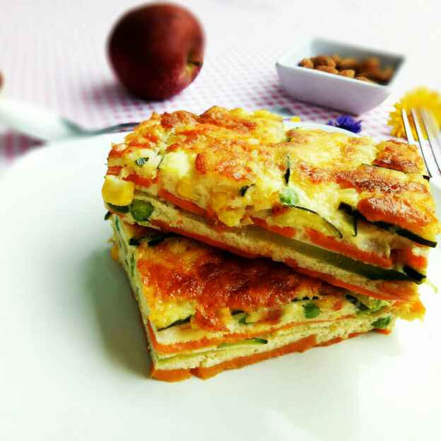 Photo of Layered Veggies by Sushama Samanta at BetterButter