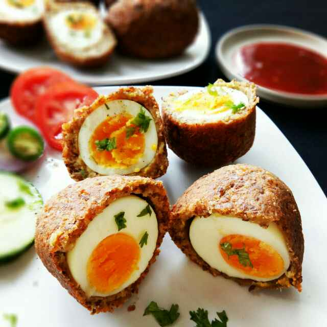Photo of Egg Falafel Devil by Sushama Samanta at BetterButter