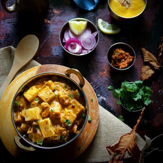 Photo of Mughlai Aloo Lazawab - Restaurant Style Indian Curry by Sushma Balasubramanian at BetterButter