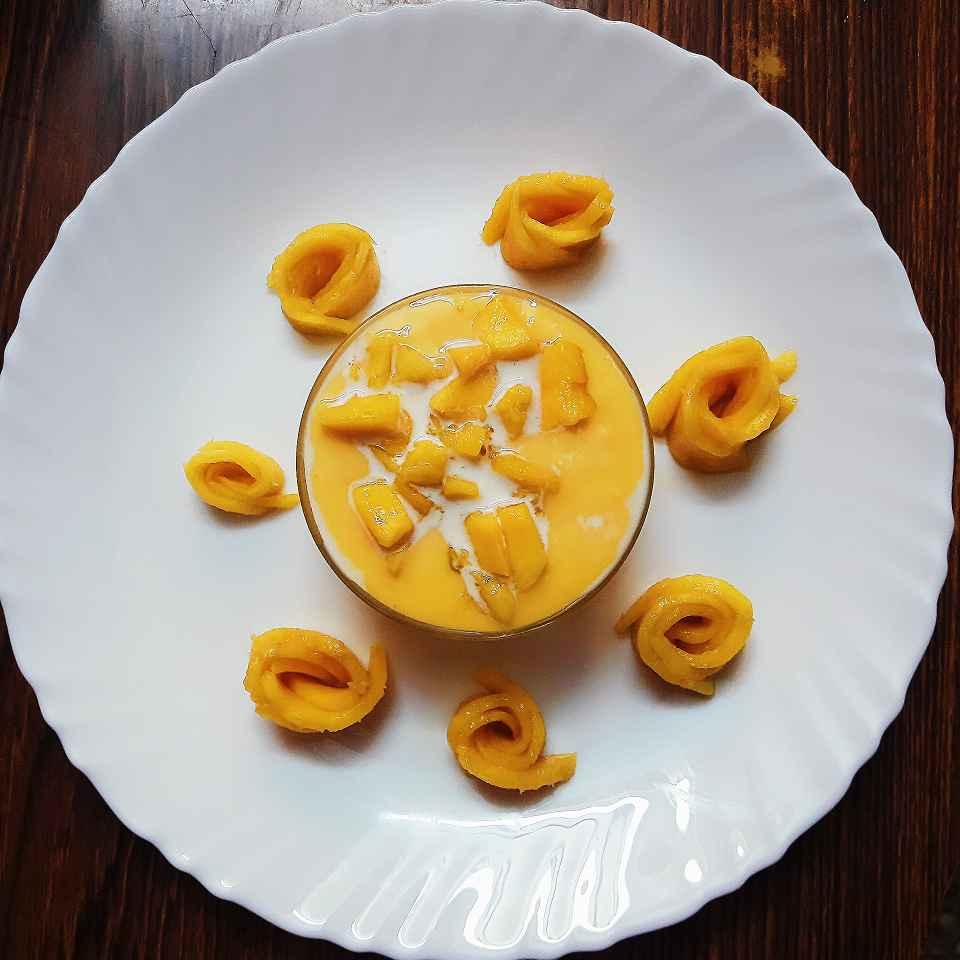Photo of Mango Custard by Sushma Subramanyam at BetterButter