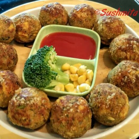 Photo of Broccoli Corn Appe by Sushmita Amol at BetterButter