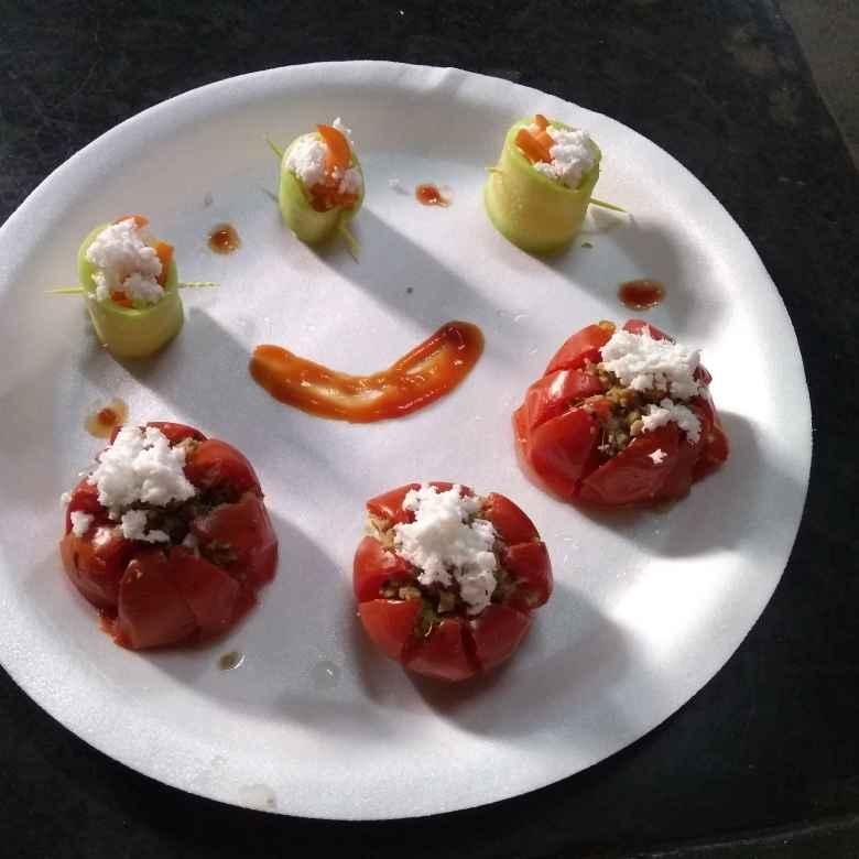 Photo of Soya tomato momo by Sushmita Chakraborty at BetterButter