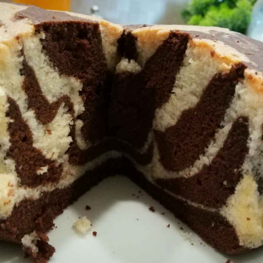 Photo of Zebra cake by Dr. Sushmita Roy Nath at BetterButter