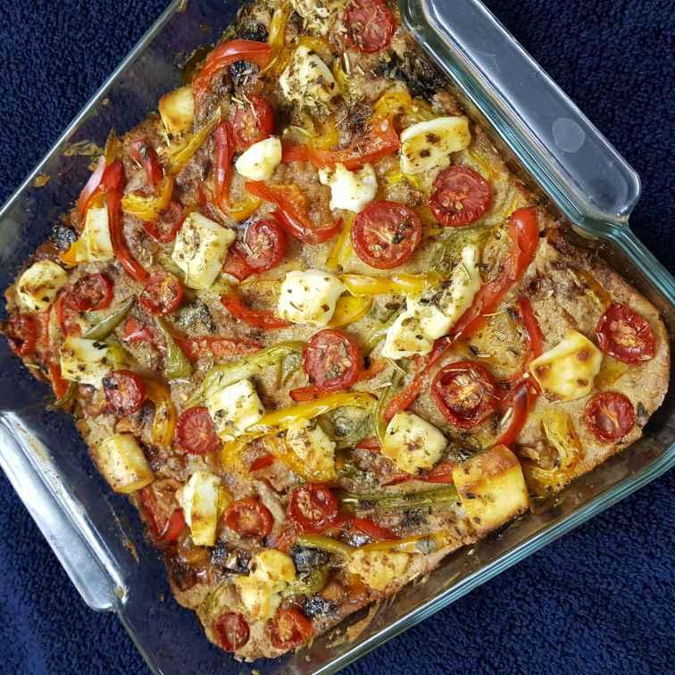 Photo of Baked Oats Quinoa Veg Fruity Pizza by Sushree Satapathy at BetterButter