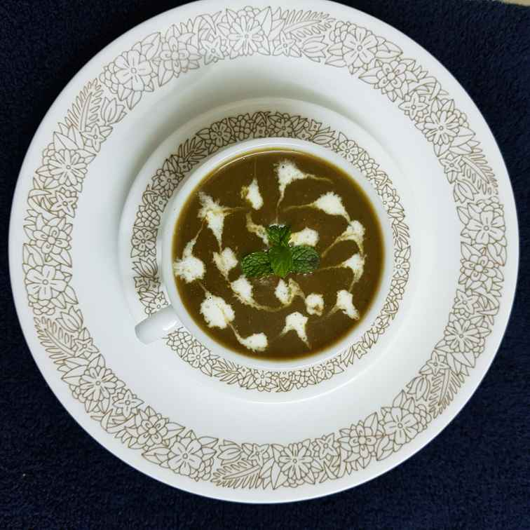 Photo of Cloudy Spinach Soup by Sushree Satapathy at BetterButter