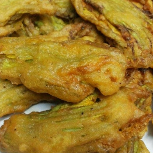 Photo of Squash flower fritters by Sushreeta Supkar at BetterButter