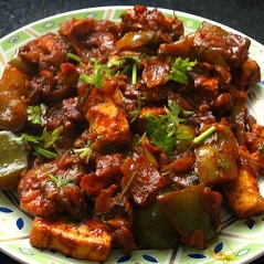 How to make Chili Pepper Paneer (Cottage Cheese)!!