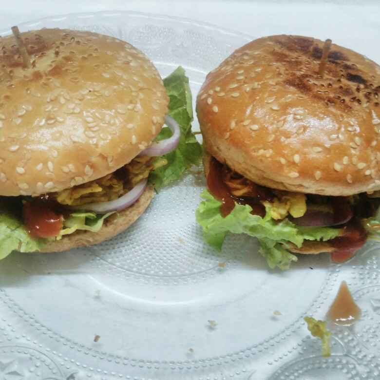 Photo of Chicken burger by Susmita Mitra at BetterButter