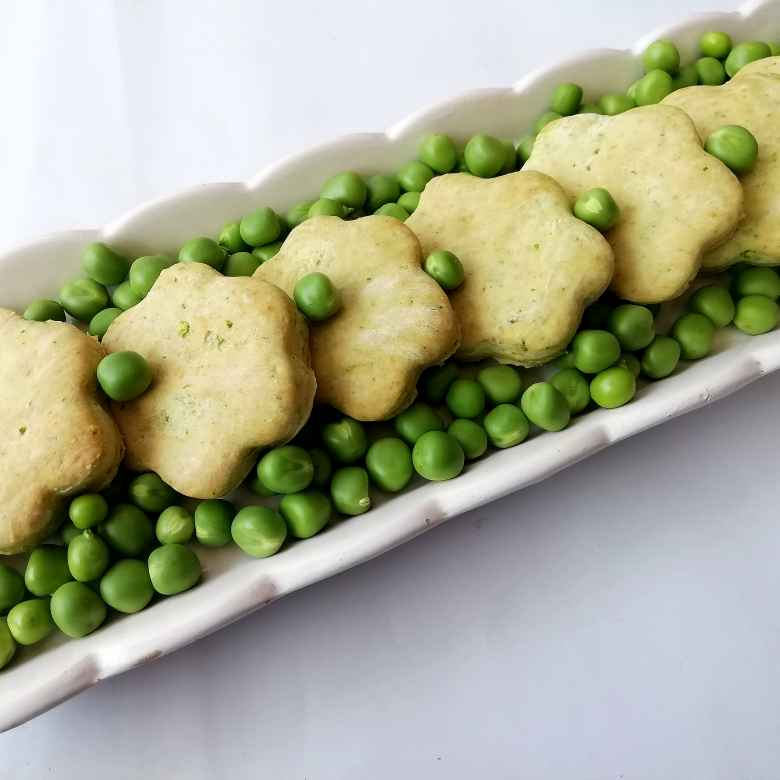 Photo of Green pea and mint cookies by Susmita Mitra at BetterButter