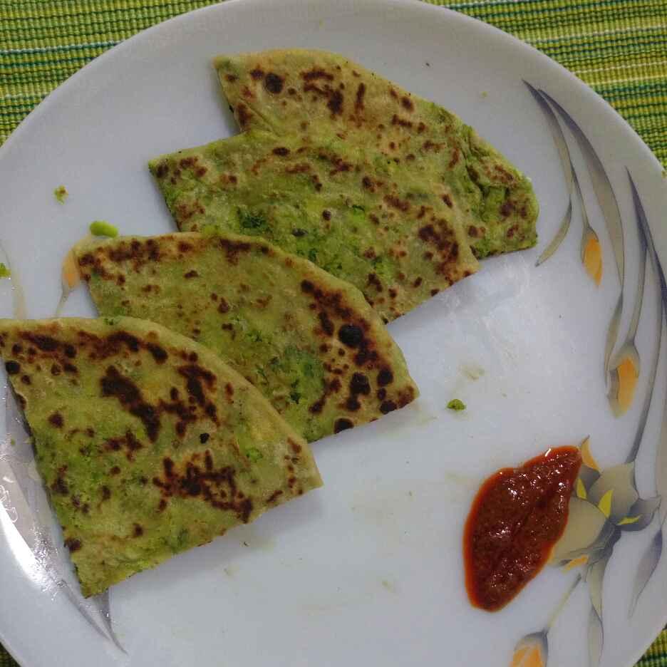 Photo of Green Peas Paratha by Susmita Tadwalkar at BetterButter
