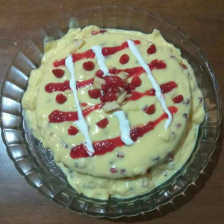 Photo of Fruit custard cake by Susmitha  at BetterButter
