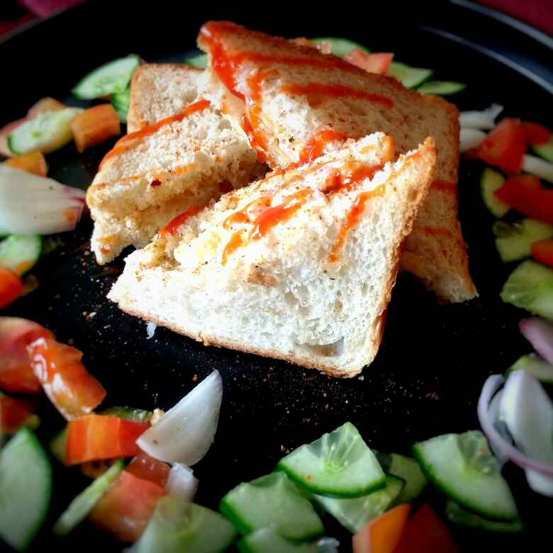 Photo of Grilled Veg Sandwich with Yogurt Sauce by Swagata Banerjee at BetterButter