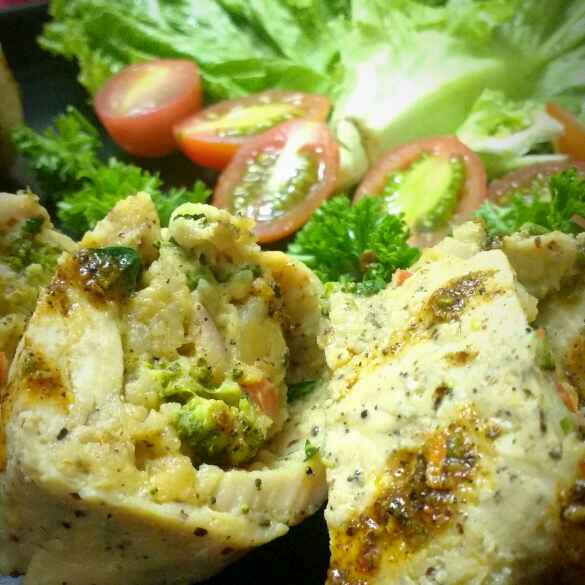 Photo of Baked Chicken Roulade by Swagata Banerjee at BetterButter