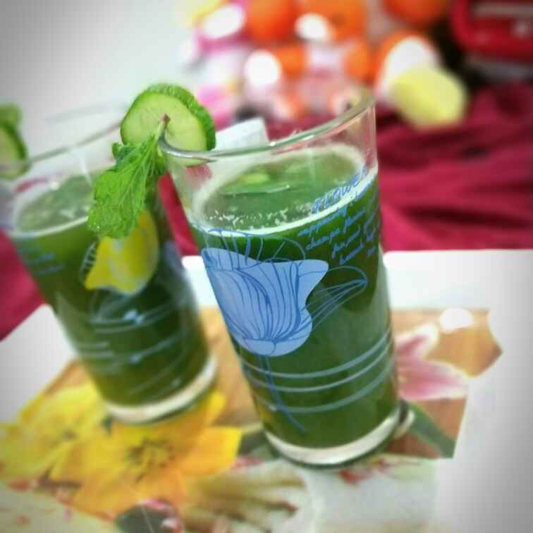 Photo of Spicy Green Cooler by Swagata Banerjee at BetterButter