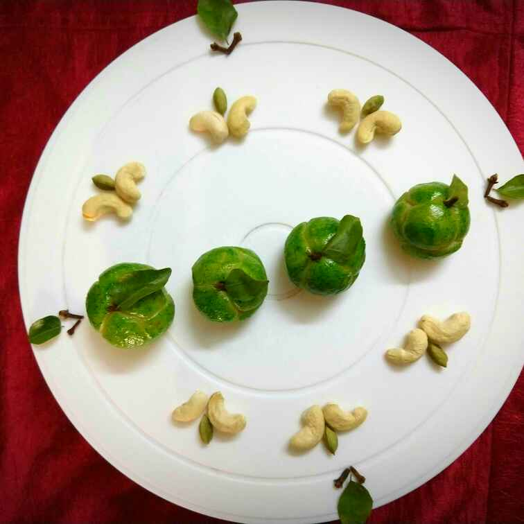 Photo of Custard Apple Sweet made out of Cashew by Swagata Banerjee at BetterButter