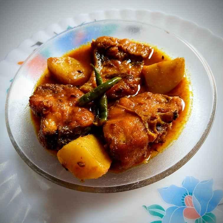 Photo of Rahu Fish Kalia (Curry) by Swagata Banerjee at BetterButter