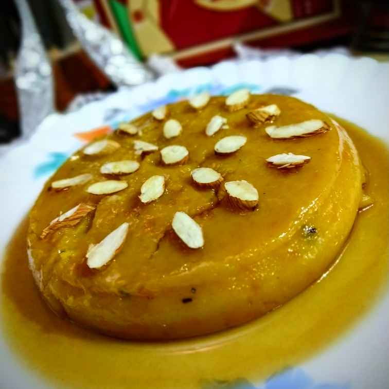 Photo of Caramel Bun Motichur Pudding by Swagata Banerjee at BetterButter