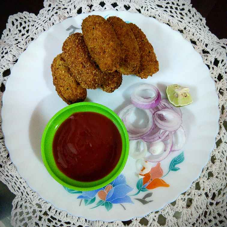 Photo of Jackfruit Cutlet by Swagata Banerjee at BetterButter