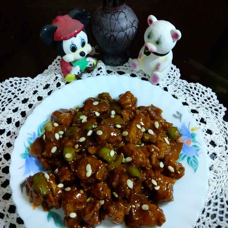 Photo of Spicy Honey Garlic Chicken by Swagata Banerjee at BetterButter