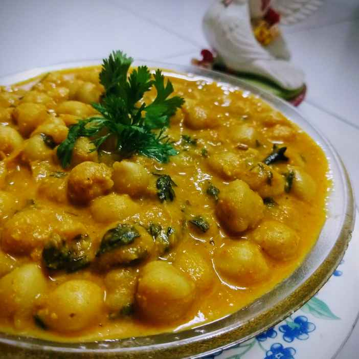 Photo of Chana Butter Masala (No onion-garlic) by Swagata Banerjee at BetterButter