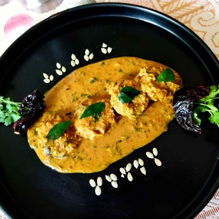 Photo of Baked Bottle Gourd Kofta Curry by Swagata Banerjee at BetterButter