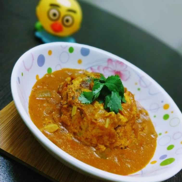 Photo of Baked Egg Korma by Swagata Banerjee at BetterButter