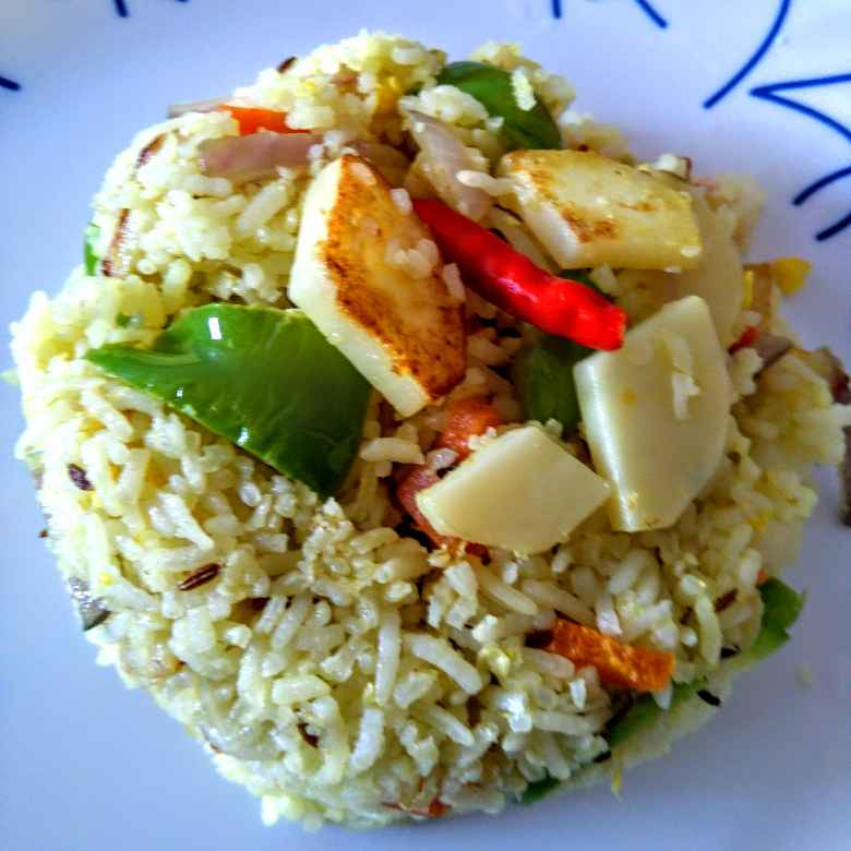 Photo of Mixed veg rice by Swagata Roy at BetterButter