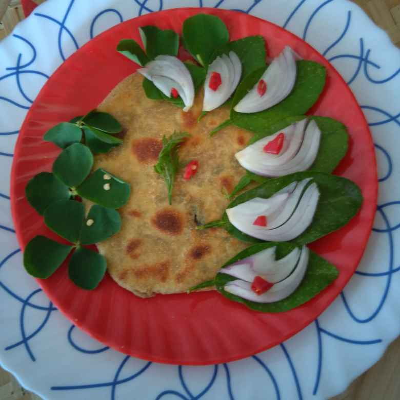 Photo of Methi parota by Swagata Roy at BetterButter