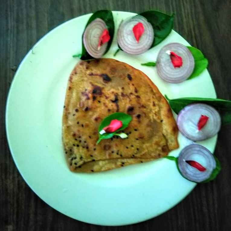 How to make কালো জিরে পরোটা