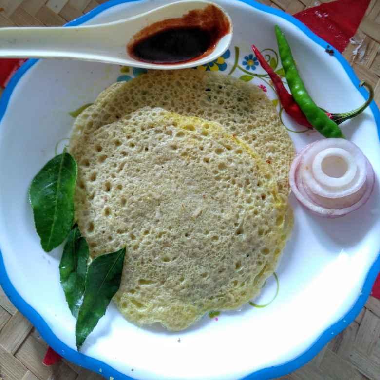 How to make বিউলি রাইস ধোসা