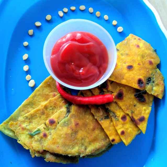 How to make পালং থেপলা