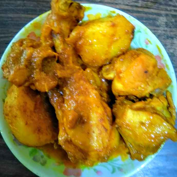 Photo of Alu chicken rosa by Swagata Roy at BetterButter