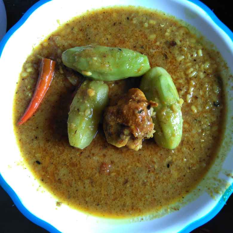 Photo of Potol chicken dal by Swagata Roy at BetterButter
