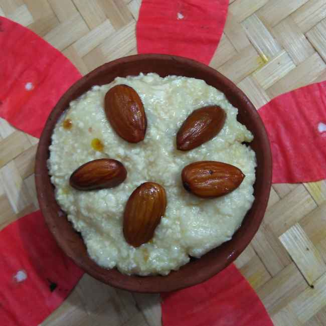 Photo of Almond firni by Swagata Roy at BetterButter
