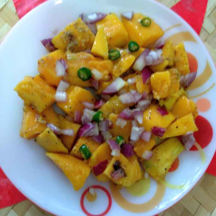 Photo of Mango salad by Swagata Roy at BetterButter
